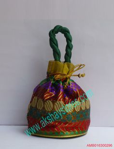 Indian Wedding Return Gift Bags : ... indian-handicrafts-online/return-gifts/wedding-return-gifts/multicolor