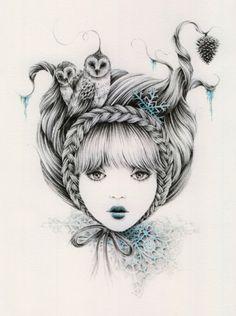 "Courtney Brims ~ ""Snowflake"""