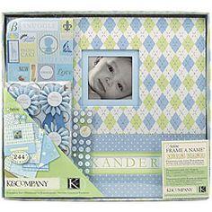 K Little House Baby Boy Scrapbook Kit