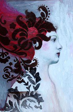 Alice Liddell Study 1 by Felicia Olin