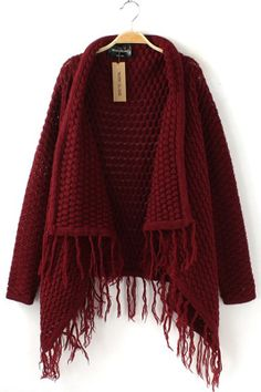 fashion, red, cloth, capes, knit sweaters, collars, cape sweater, closet, fring