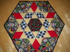 Mary Engelbreit fabric Table Topper. $54.00, via Etsy.