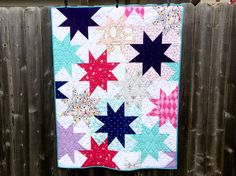Sparkle Quilt with Sarah Jane's Let's Pretend fabric.