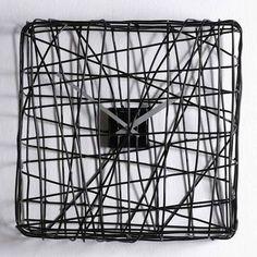 Wire clock, DIY clock