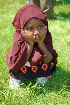 Somali girl..cute little girl..