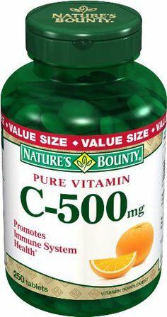 Nature S Bounty Vitamin C E Benefits