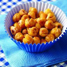 roast chickpea, healthi snack, crunchi roast, diabetic living, healthy snacks