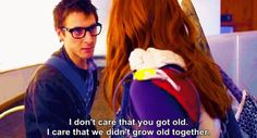 I am convinced that this is the sweetest, most romantic line in the whole series. This is one of the many reasons I love Rory.