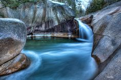 The Basin at Franconia Notch State Park in New Hampshire, courtesy Garrett Evans.