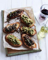 Bruschetta Duet Recipe from Food & Wine