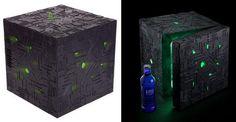 Star Trek' Borg cube mini-fridge keeps your food and drinks at optimum temperatures
