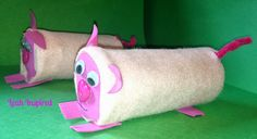 Leah Inspired: Toilet Paper Roll Pig