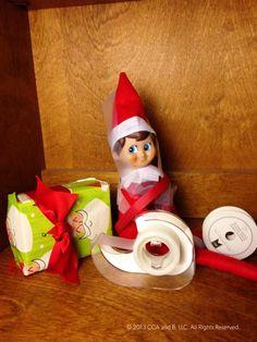 Present-wrapping predicament