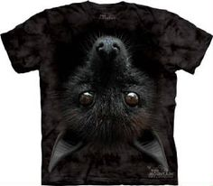 Bat Face T-Shirt -  15% of sales will be donated to Bat World Sanctuary