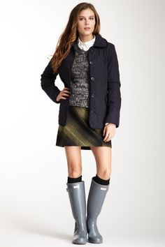 Hunter Quilted Coat