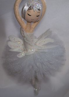 Swan lake ornament