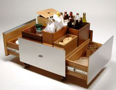 Compact Mobile Bar from Brazil