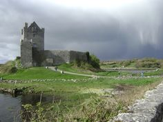 Dunguaire Castle, County Galway, Ireland. Photo by Alexandra Simone
