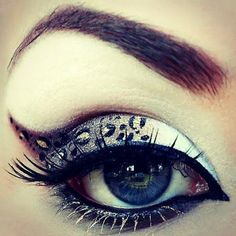 Love this eye makeup! - #eyemakeup #makeup #tutorial #leopardeyes #animalprint #animalprinteyes #eyeshadow - bellashoot.com
