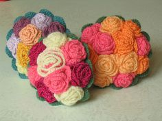 Free pattern for bouquet of roses on Ravelry: comtess' bouquet de mariée