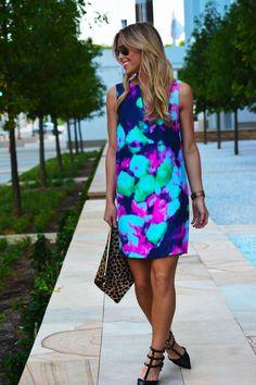 bright bright dress