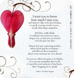 Words of my broken heart