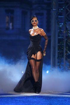 Rihanna at Victoria's Secret Fashion Show 2012