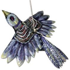 Painted Tooling Foil Birds, United lesson #116