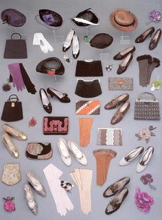 Shoes, bags, purses and brooches of Queen Maud of Norway