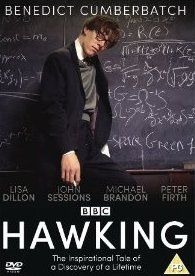 "Hawking is a BBC television film about #StephenHawking's early years as a PhD student at Cambridge University, following his search for the ""beginning of time"" and his courageous struggle against motor neuron disease. It stars #BenedictCumberbatch as Hawking and was premiered in the UK in April 2004."