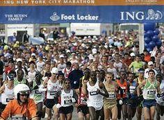 English: ING NYC Marathon