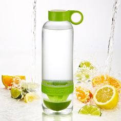 Water bottle- you can infuse citrus & other fruits