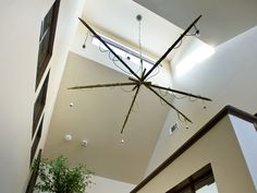 Learn more about the HGTV Green Home bioswale and that nifty chandelier.