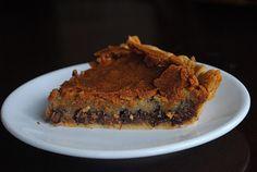 Chocolate Chip cookie pie!