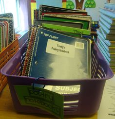 poetry notebooks and great lessons to go with them!