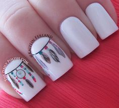 feathernailart I want!