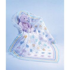Mary Maxim - Free Granny's Little Baby Blanket Crochet Pattern - Free Patterns - Patterns & Books
