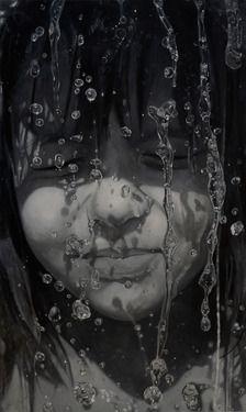 "Sándor Hartung; Painting, ""Sári"""