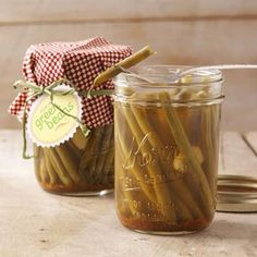 Pickled Green Beans Recipe from Taste of Home