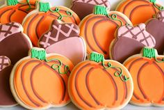 Fall cookies #howto