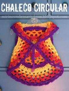 mi rincón de mariposas: Another circular vest (with chart)
