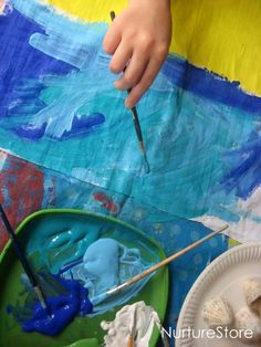 Great kids art project : painting landscapes - Drawing/Artist related badges