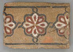 回 Tile o Phile 回  Egypt, 12th-14th century. tiles, real egypt, mediev tile, 12th14th centuri