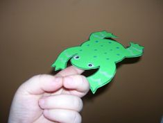 Balancing Act Frog Craft from Making Learning Fun