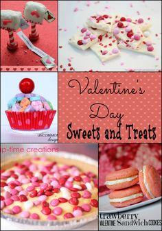 Valentine Treats and Sweets. #Valentine's Dessert @Bonnie &  Trish { Uncommon Designs }