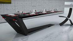 #Table #Gravity #Black #Cool #Nice #Design