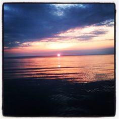 Drummond island sunset