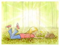 #Girl's Wall Mural - In the Woods