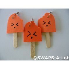 Popsicle girl scout swaps - Popsicle stick and fun form