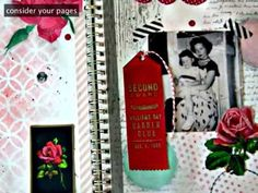 Video tutorial // Art Journaling with Jenny & Aaron of Everyday is a Holiday Class 6
